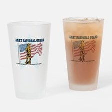 Army National Guard Drinking Glass