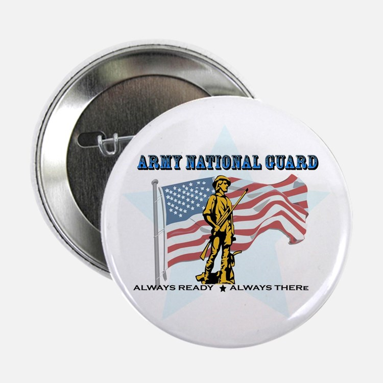 """Army National Guard 2.25"""" Button (100 pack)"""