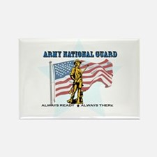 Army National Guard Rectangle Magnet