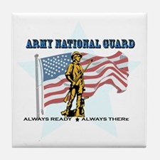 Army National Guard Tile Coaster