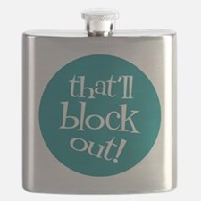 Knit Sassy - That'll Block Out! Flask