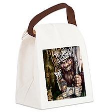 Mad Dwarf Canvas Lunch Bag