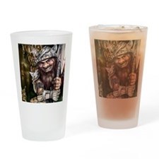 Mad Dwarf Drinking Glass
