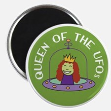 Sew Sassy / Knit Sassy - Queen of the UFOs Magnet