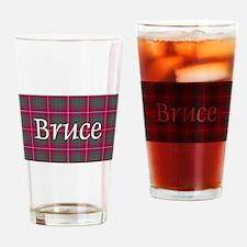 Tartan - Bruce Drinking Glass