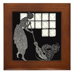 Harbour's Cinderella Framed Tile