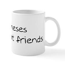 Bologneses make friends Mug