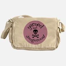 Knit Sassy - Yarned & Dangerous! Messenger Bag
