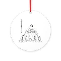 Harbour's Cinderella Ornament (Round)
