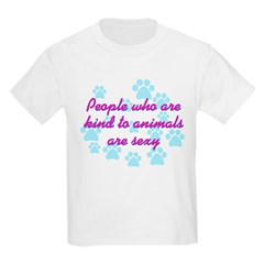 Kind animals sexy Kids T-Shirt