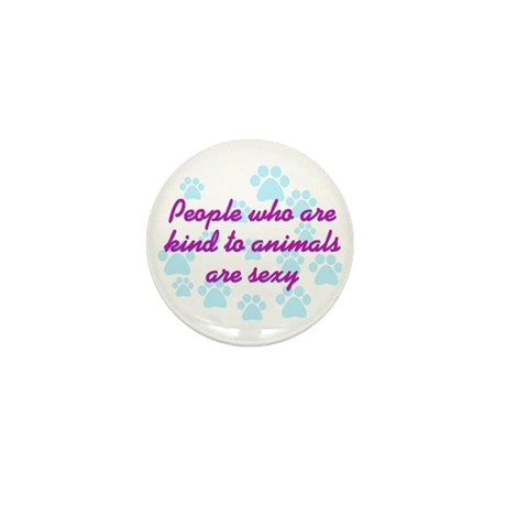 Kind animals sexy Mini Button (100 pack)