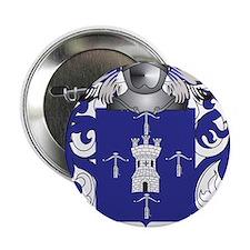 """Ballesteros Coat of Arms 2.25"""" Button"""
