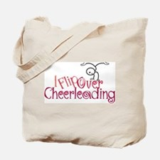 I Flip Over Cheerleading Tote Bag