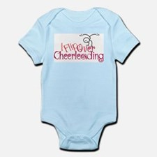 I Flip Over Cheerleading Infant Bodysuit