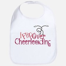 I Flip Over Cheerleading Bib