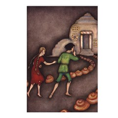 Harbour's Hansel & Gretel Postcards (Package of 8)