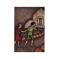 Harbour's Hansel & Gretel Rectangle Magnet (10 pac