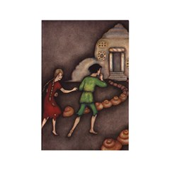 Harbour's Hansel & Gretel Rectangle Magnet