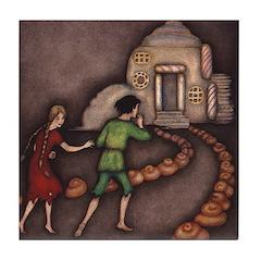 Harbour's Hansel & Gretel Tile Coaster