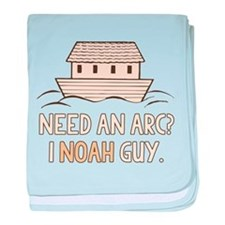 Need An Arc I Noah Guy baby blanket