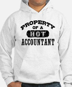 Property of a Hot Accountant Hoodie