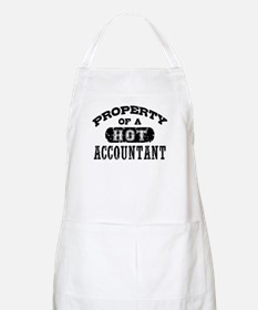 Property of a Hot Accountant Apron