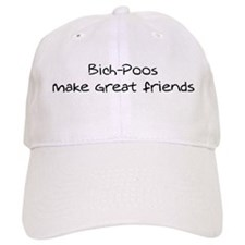 Bich-Poos make friends Baseball Cap
