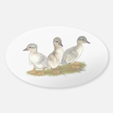 Saxony Ducklings Decal