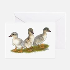 Saxony Ducklings Greeting Card