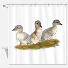Saxony Ducklings Shower Curtain