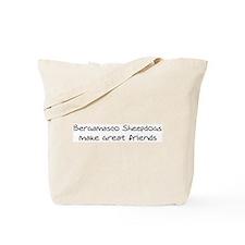 Bergamasco Sheepdogs make fri Tote Bag