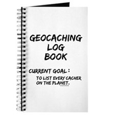 Geocacher Goals Journal