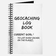 Geocacher Goals Journal