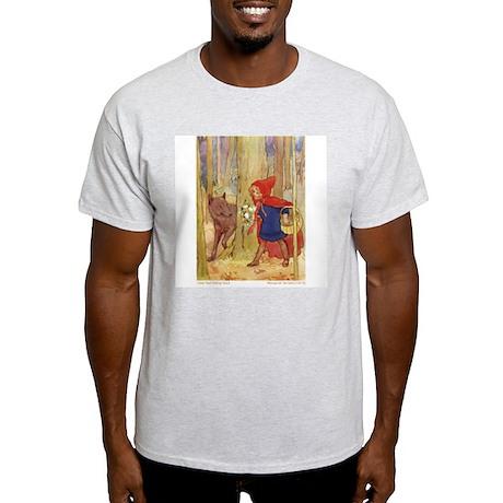 Tarrant's Red Riding Hood Ash Grey T-Shirt