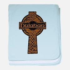 Dulahan - Weathered Cross baby blanket