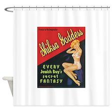 Cute Jewish Shower Curtain