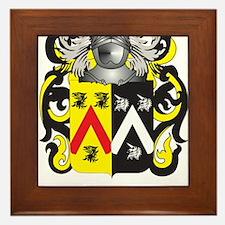 Bankhead Coat of Arms Framed Tile