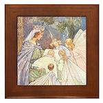 Tarrant's Sleeping Beauty Framed Tile