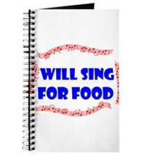 SING FOR FOOD Journal
