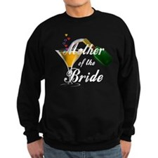 mother of bride black.png Sweatshirt