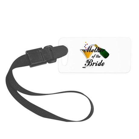 mother of bride black.png Luggage Tag