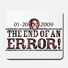 End of an Error 2009 Mousepad