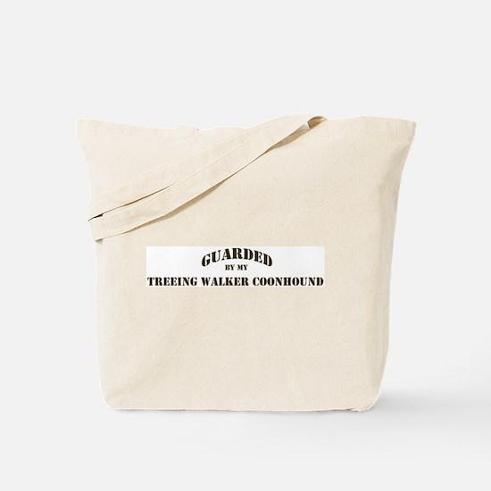 Treeing Walker Coonhound: Gua Tote Bag