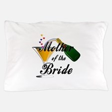 mother of bride black.png Pillow Case