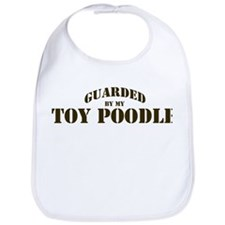 Toy Poodle: Guarded by Bib