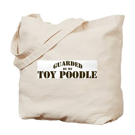 Toy Poodle: Guarded by Tote Bag
