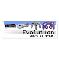 """Evolution"" Bumper Bumper Sticker"