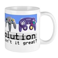 """Evolution"" Coffee Small Mug"