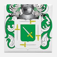 Barbet Coat of Arms Tile Coaster