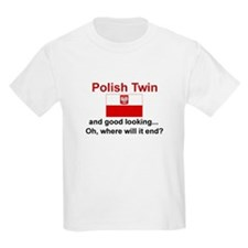 Polish Twin-GdLkg Kids T-Shirt